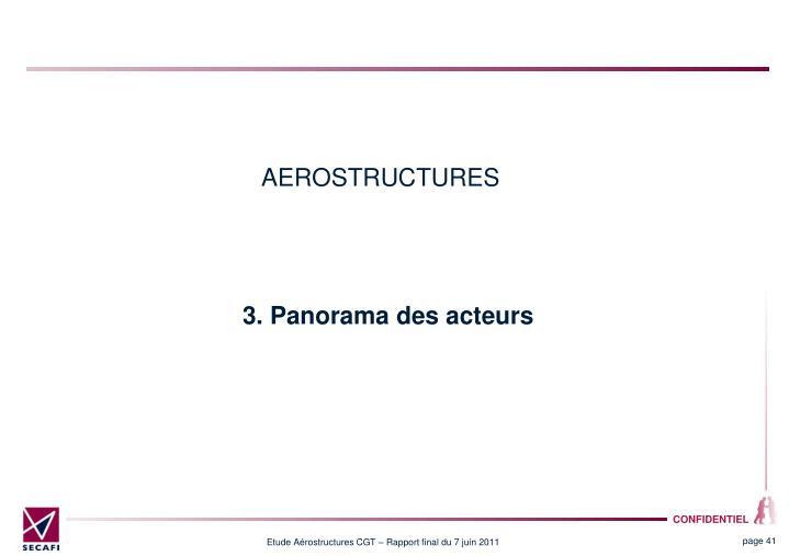 AEROSTRUCTURES