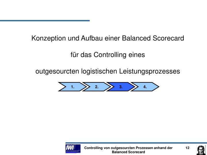 Konzeption und Aufbau einer Balanced Scorecard