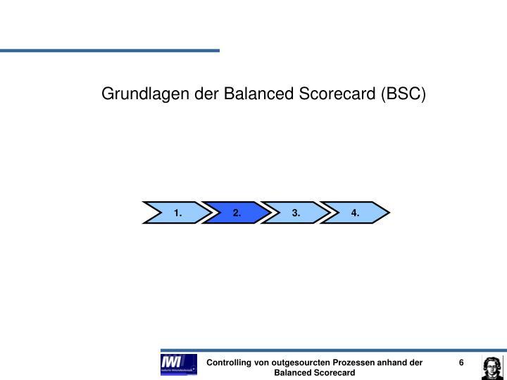 Grundlagen der Balanced Scorecard (BSC)