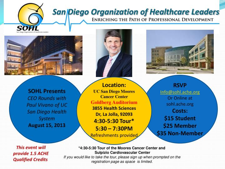 San Diego Organization of Healthcare Leaders