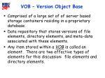 vob version object base