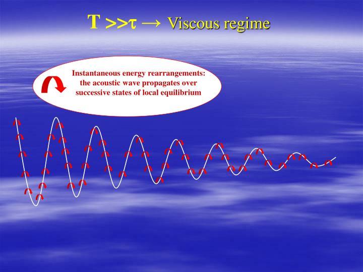 Instantaneous energy rearrangements: the acoustic wave propagates over successive states of local equilibrium