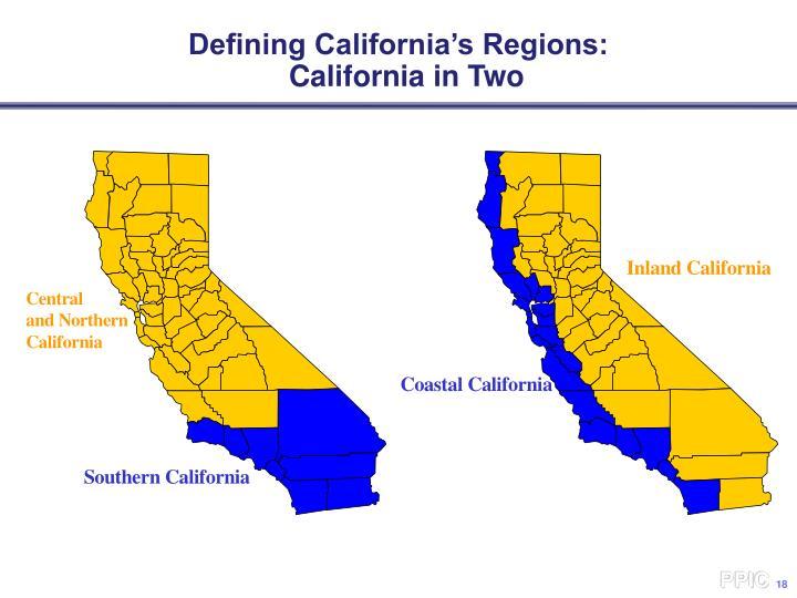 Defining California's Regions: