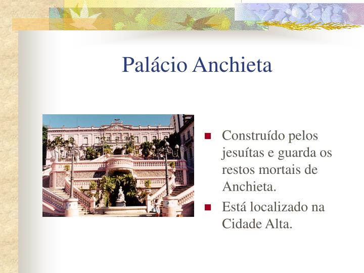Pal cio anchieta