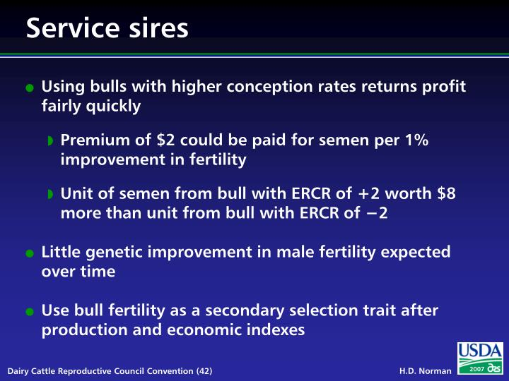 Service sires