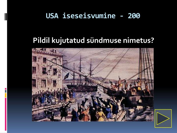 USA iseseisvumine - 200