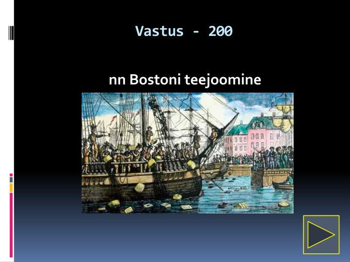 Vastus - 200