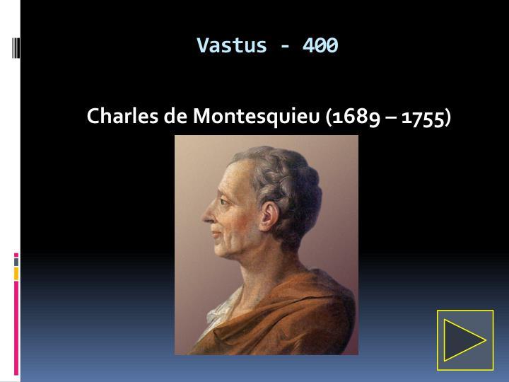 Vastus - 400
