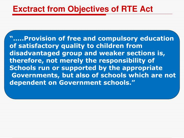 right to education act history objectives Mass education hostility 1802 factory act  this is the new version of education in england: a history,  the idea of education as a fundamental human right.