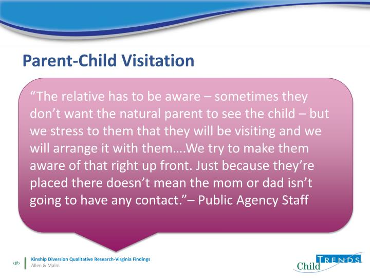 Parent-Child Visitation