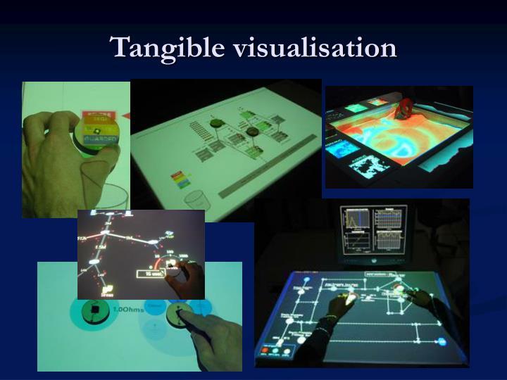 Tangible visualisation