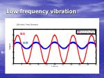 low frequency vibration
