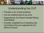 understanding the clp