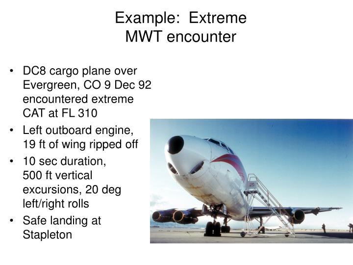 Example:  Extreme