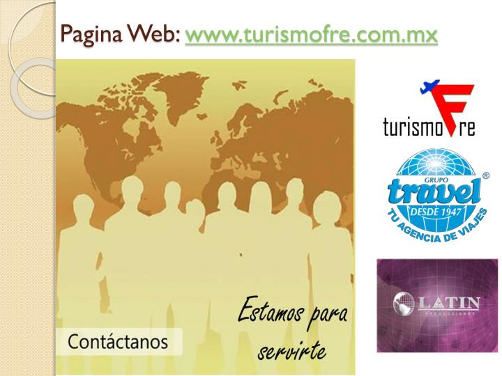 Pagina Web:
