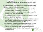 metallit stuse keskkonnakoormus