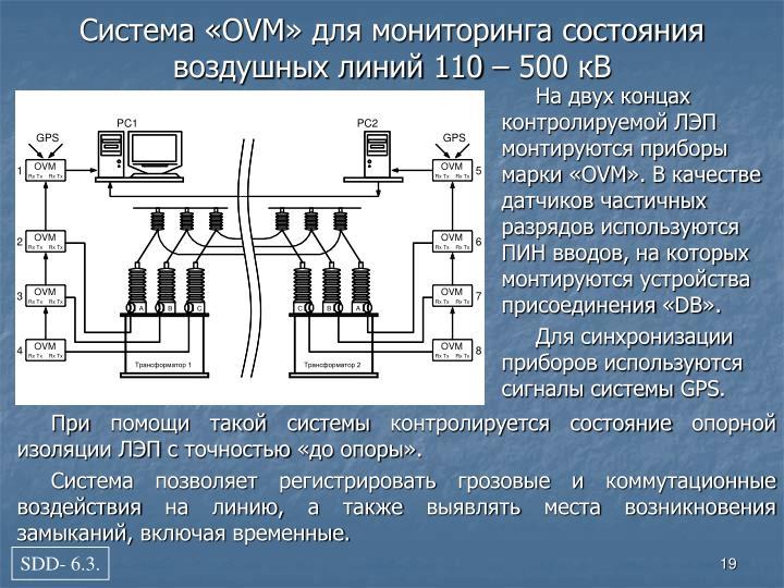 На двух концах контролируемой ЛЭП монтируются приборы марки «