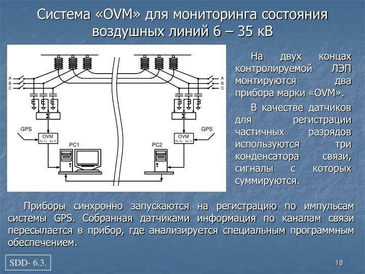 На двух концах контролируемой ЛЭП монтируются два прибора марки «