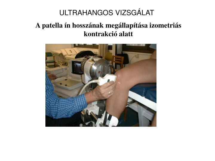 ULTRAHANGOS VIZSGÁLAT