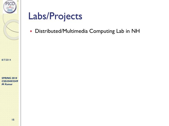 Labs/Projects