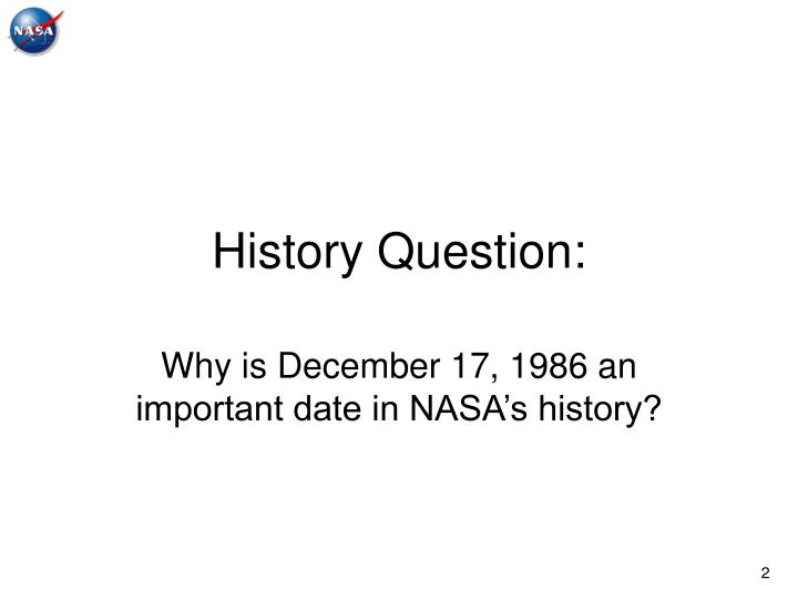 History Question: