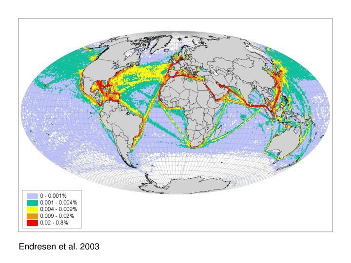 Endresen et al. 2003