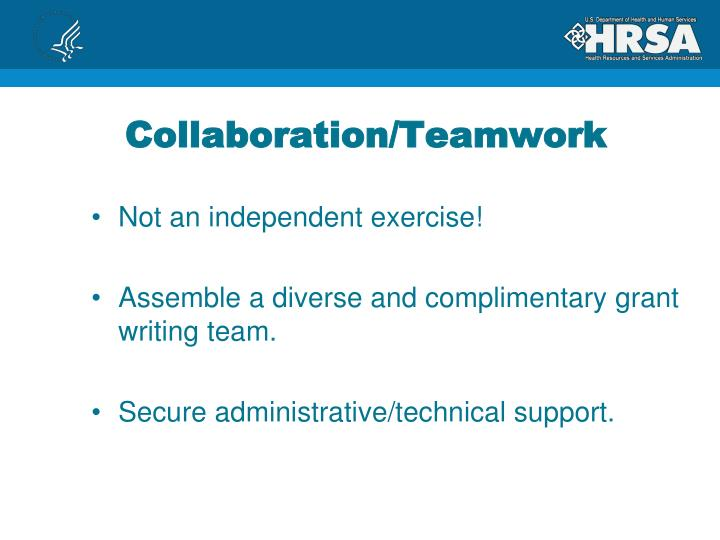 Collaboration/Teamwork