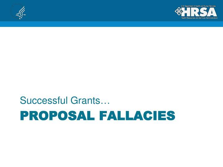 Successful Grants