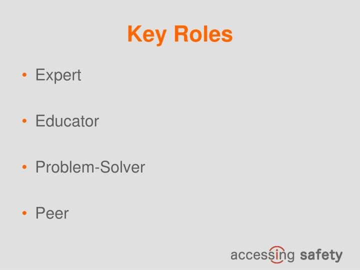 Key Roles