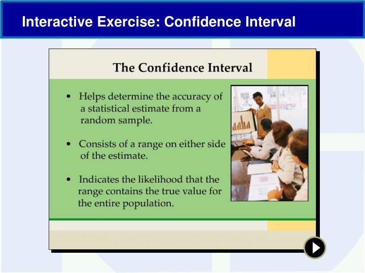 Interactive Exercise: Confidence Interval