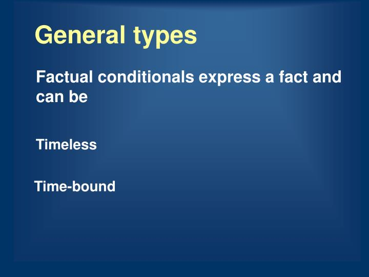 General types