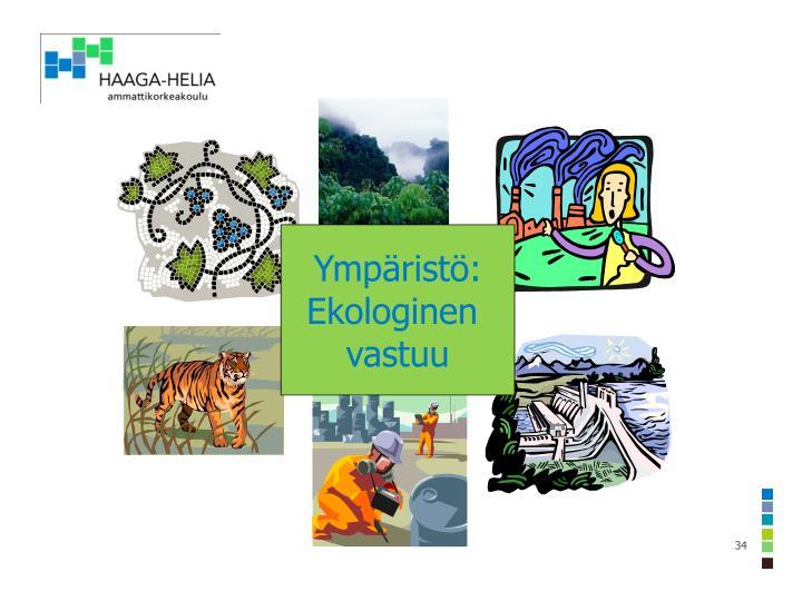 Ympäristö: