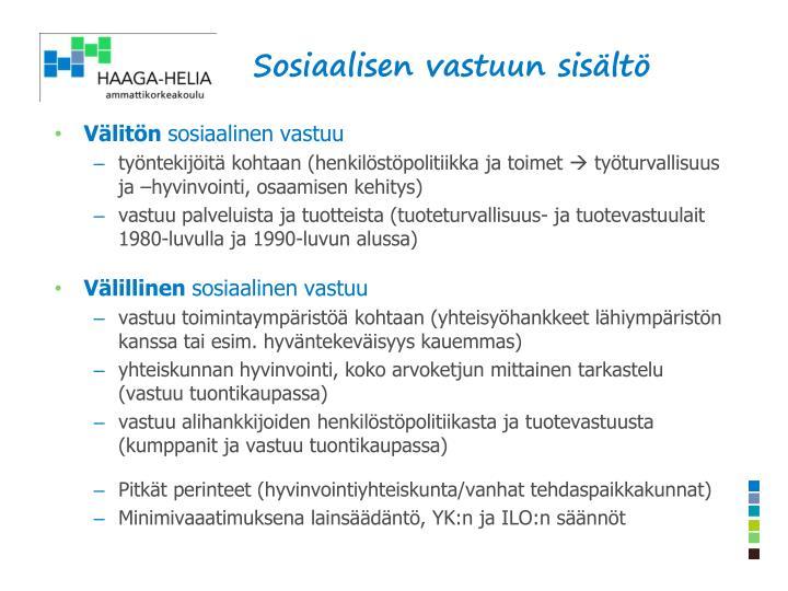 Sosiaalisen