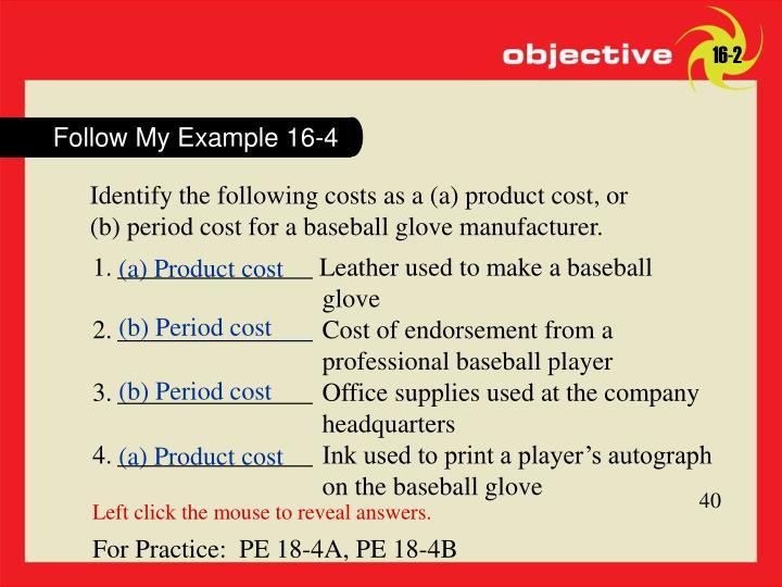 Follow My Example 16-4