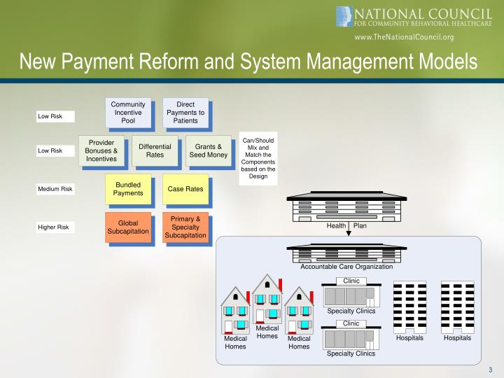 New payment reform and system management models