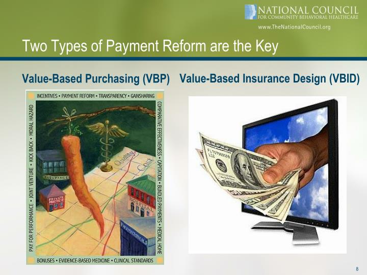 Two Types of Payment Reform are the Key