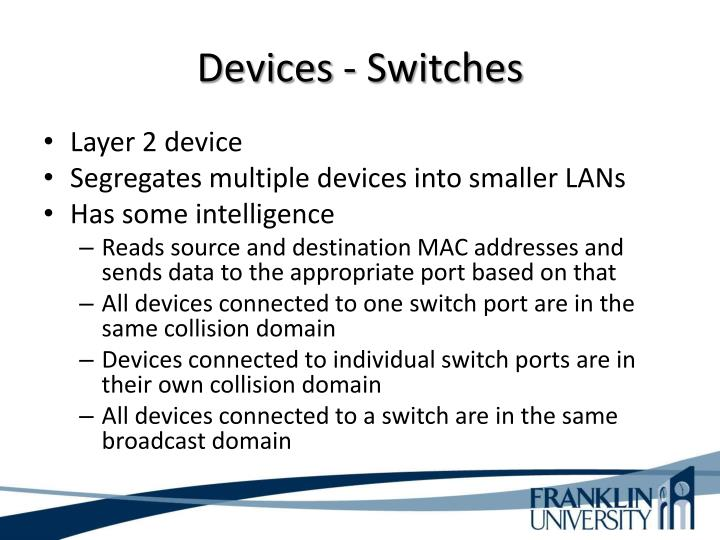 Devices - Switches