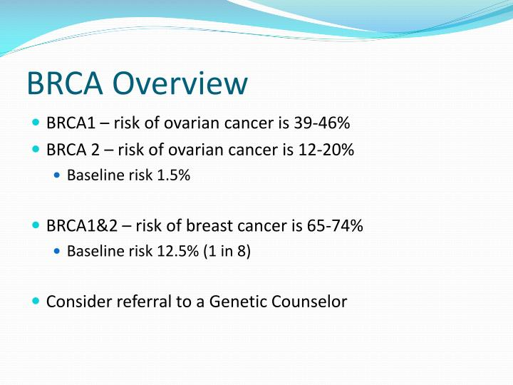 BRCA Overview