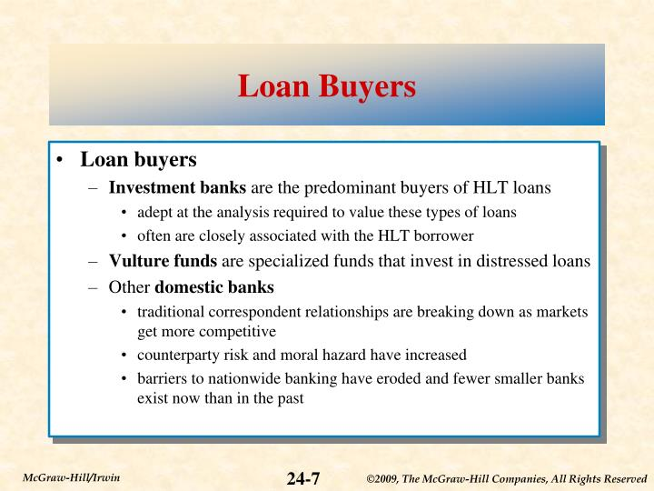 Loan Buyers