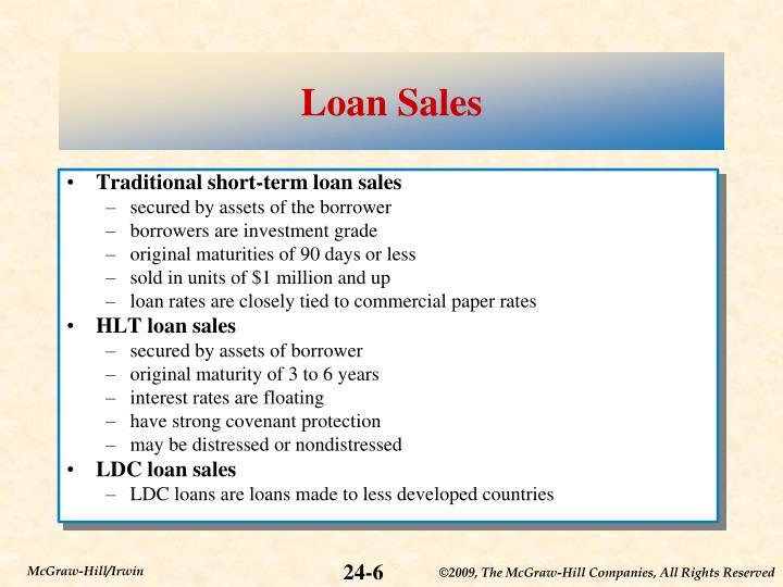 Loan Sales