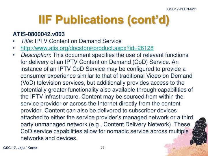 IIF Publications (cont'd