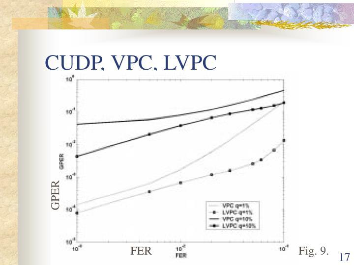 CUDP, VPC, LVPC