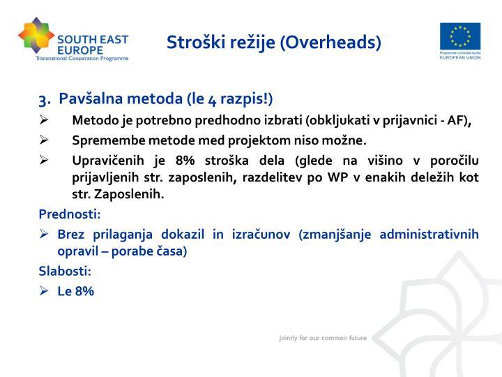 Stroški režije (Overheads)