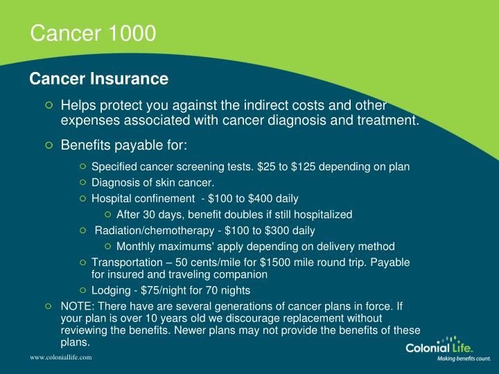 Cancer 1000
