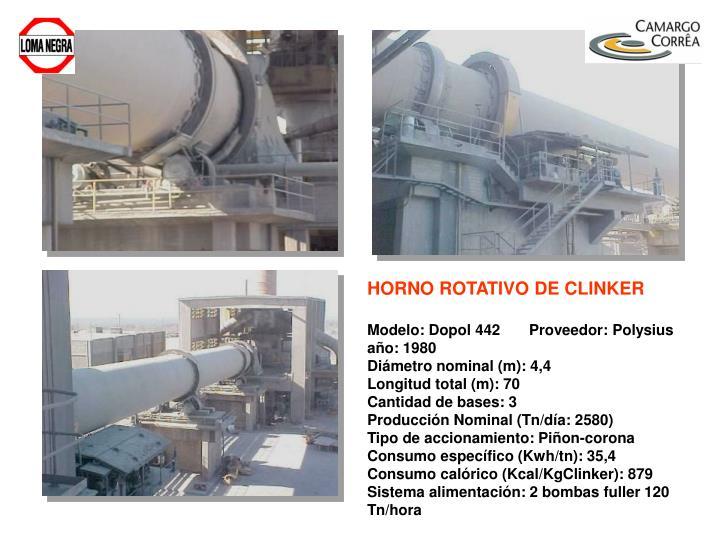 HORNO ROTATIVO DE CLINKER