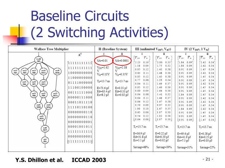 Baseline Circuits