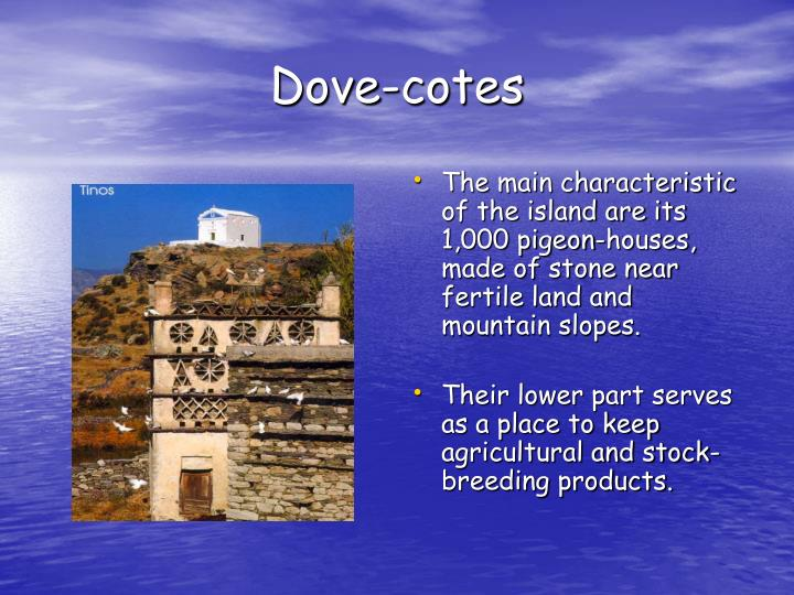 Dove-cotes