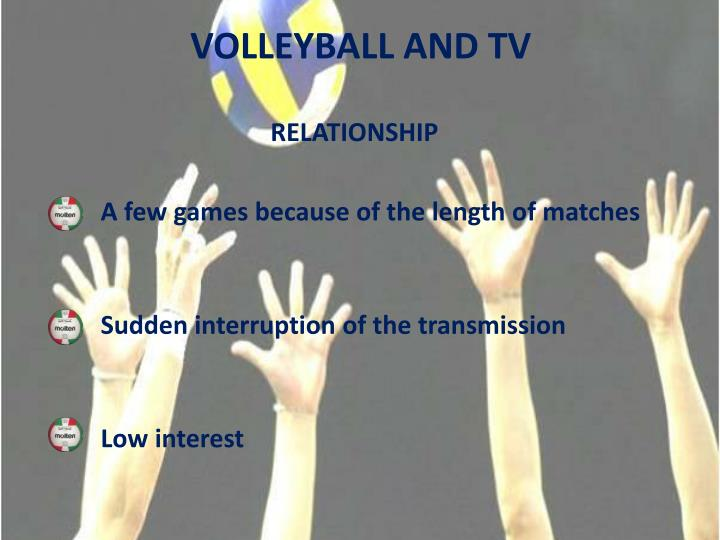 VOLLEYBALL AND TV