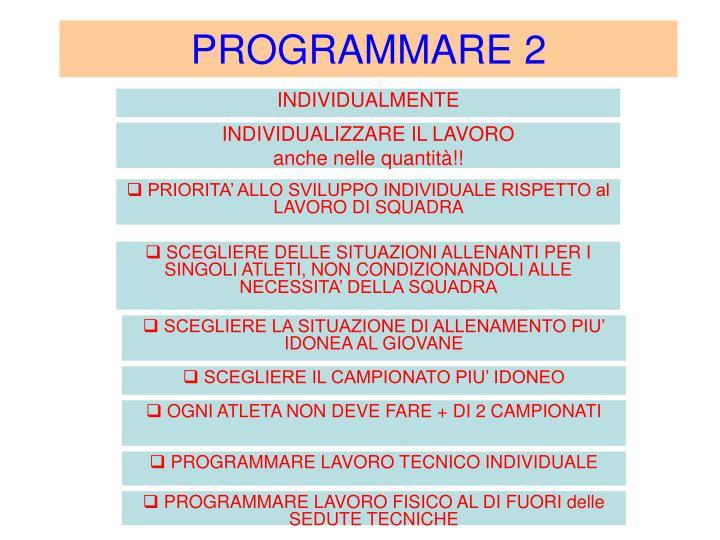 PROGRAMMARE 2