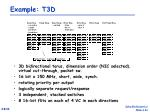 example t3d